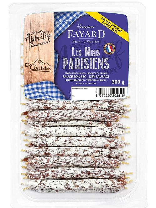 Saucisson Sec / Dry Sausage Les Minis Parisiens 200g - Buy one, get one free