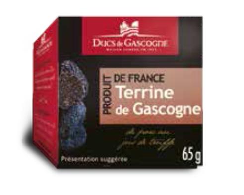 Gascony terrine with truffle juice Ducs de Gascogne 65g