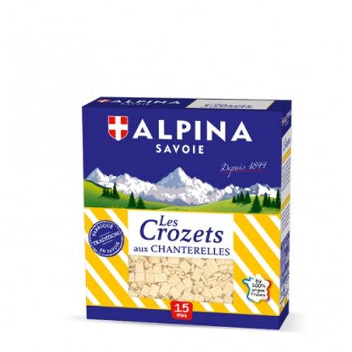 Crozet with Chanterelles 400g - ALPINA