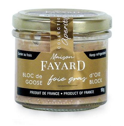 Foie gras block Maison Fayard 90g