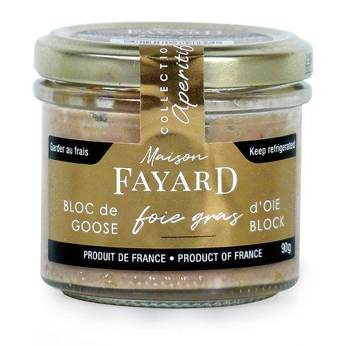 Foie Gras Block 90g - MAISON FAYARD