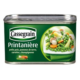 Printanière de légumes Cassegrain 375g