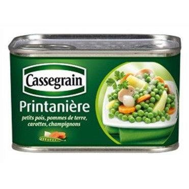 Printanière de légumes / Mix of Vegetables 400g - CASSEGRAIN