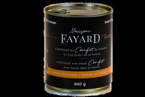Cassoulet with Duck Confit 840g MAISON FAYARD