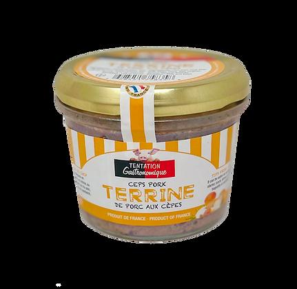 Pork terrine with ceps Tentation Gastronomique 180g