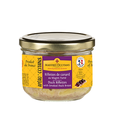 Duck rillettes with smoked duck breast Maistres Occitans 180g