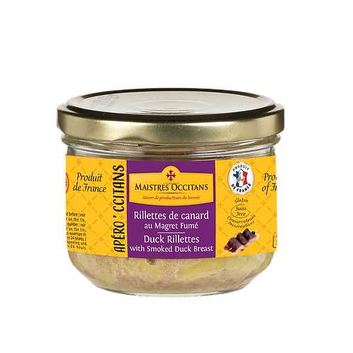 Duck Rillettes with Smoked Duck Breast 180g