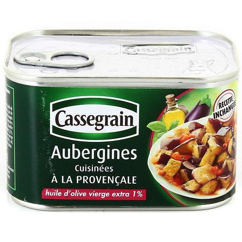 Aubergines Cuisinées à la Provençale / Eggplant Confit 375g - CASSEGRAIN