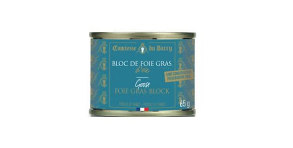 Goose foie gras block Comtesse du Barry 65g