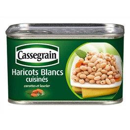 Cooked white beans Cassegrain 375g