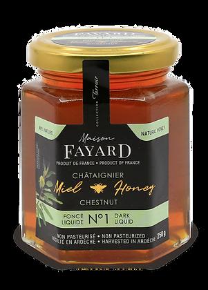 Chestnut honey Maison Fayard 250g