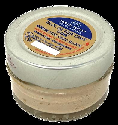 Goose foie gras block Edouard Artzner 45g