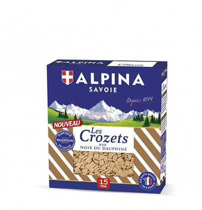 Crozets aux noix du Dauphiné Alpina 400g