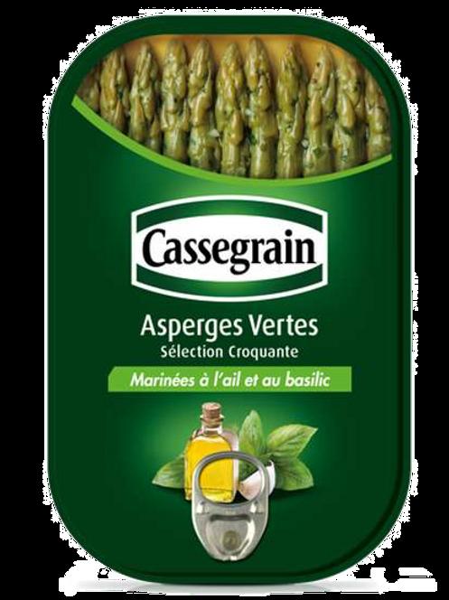 Marinated Green Aspergus / Asperges Vertes Marinées Cassegrain 210g