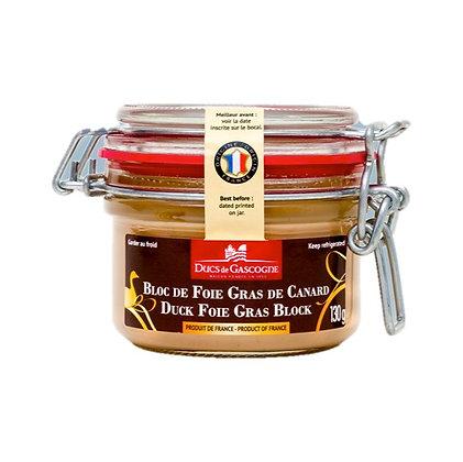Duck foie gras block Ducs de Gascogne 130g