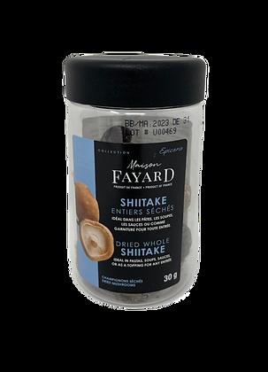 Whole dried Shitake Maison Fayard 30g
