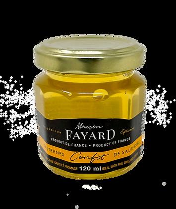 Sauternes wine confit Maison Fayard 120 ml