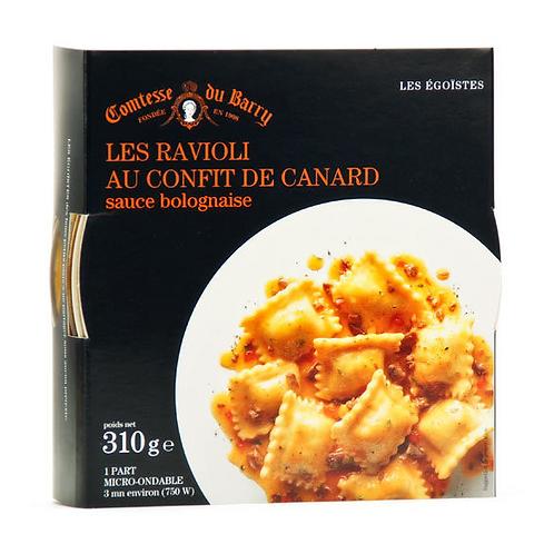 Duck confit ravioli and bolognese sauce 310g - LA COMTESSE DU BARRY