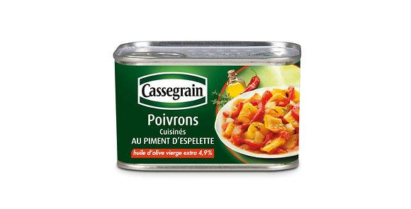 Poivrons au piment d'Espelette Cassegrain 6 x 375g