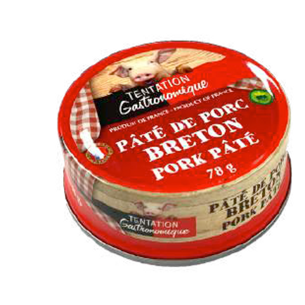 Pork French Pâté 4 UNITS x 78g