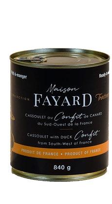 Cassoulet with duck confit Maison Fayard 6 x 840g