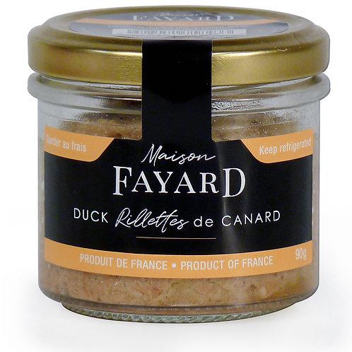 Duck Rillettes 90g - MAISON FAYARD