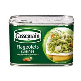 Flageolets cuisinés Cassegrain 375g x 2