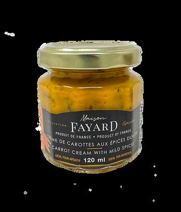 Carrot cream with mild spices Maison Fayard 120 ml