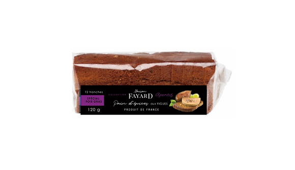 Gingerbread with Figs Maison Fayard 120g x 2