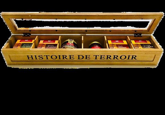 """Duck Gift Basket """"Histoire du Terroir"""" Ducs de Gascogne"""