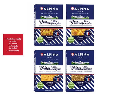 Mix Pâtes 5 x 550g - ALPINA