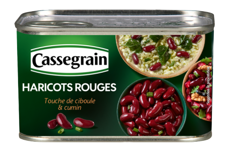 Red Kidney Beans Cassegrain 400g