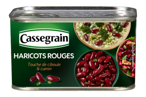 Red Kidney Beans / Haricots Rouges Cassegrain 400g