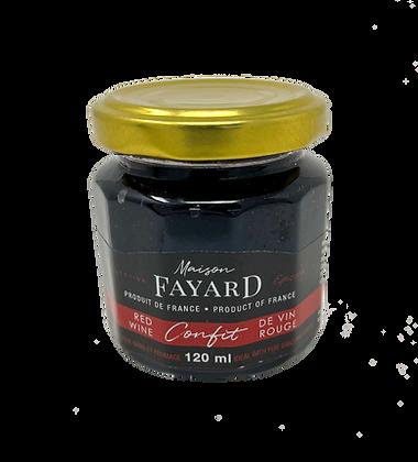 Red wine confit Maison Fayard