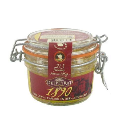 Foie Gras de Canard Entier 125g - DELPEYRAT