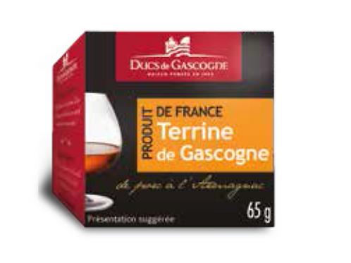 Gascony pate Armagnac 4 x 65g