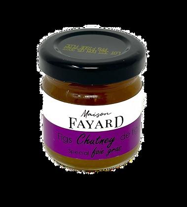 Figs chutney Maison Fayard 45g
