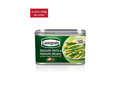 Buttered green beans 6 x 375g - CASSEGRAIN