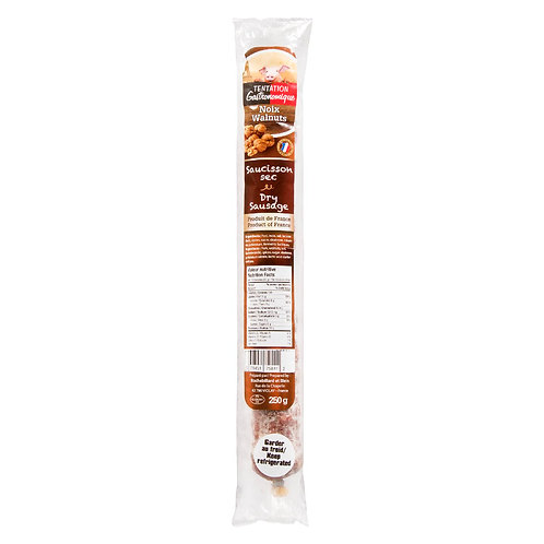 Saucisson Sec / Dry Sausage with nuts 250g