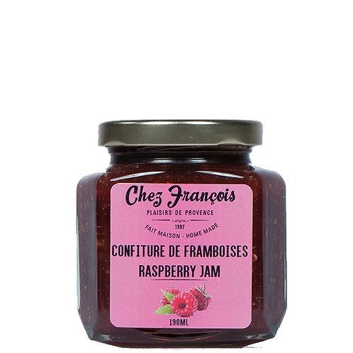 Confiture de framboises / Rasberry Jam 190ml