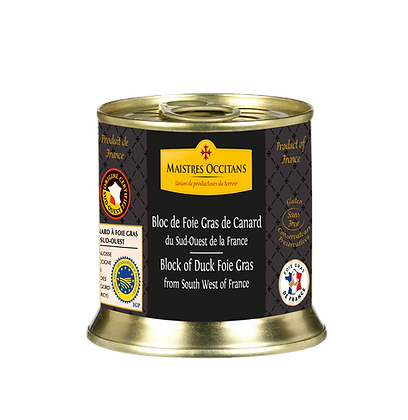Duck foie gras block Maistres Occitans 200g
