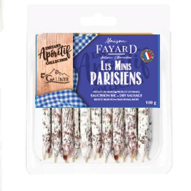 Saucisson Sec / Dry Sausage Les Minis Parisiens 100g