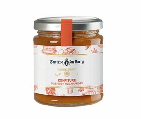 Confiture d'abricot aux d'amandes Comtesse du Barry 220g