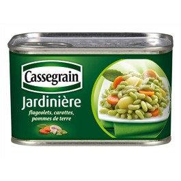 Mix of Vegetables Cassegrain 375g