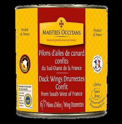 Duck wings drumettes confit Maistres Occitans 760g