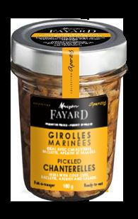 Pickled Chanterelles Maison Fayard 100g