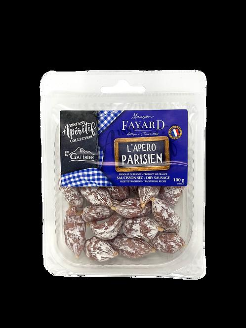 Saucisson Sec / Dry Sausage L'Apéro Parisiens 100g - Buy two, get two free