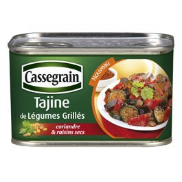 Grilled Vegetables Tajine Cassegrain 375g