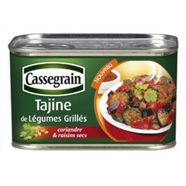 Tajine de Légumes Grillés / Grilled Vegetables Tajine 375g - CASSEGRAIN