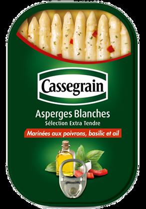 Marinated white asparagus Cassegrain 210g